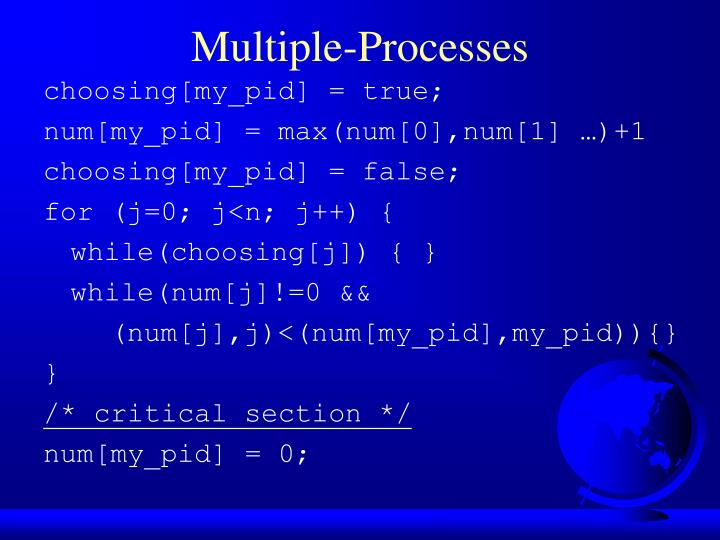 Multiple-Processes