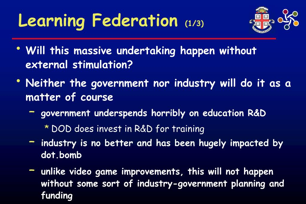 Learning Federation