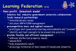 learning federation 2 3