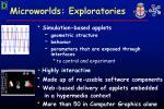 microworlds exploratories