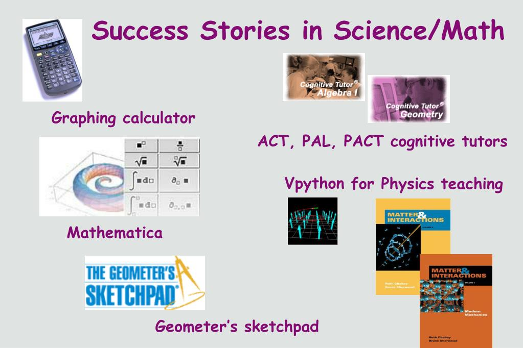 Success Stories in Science/Math