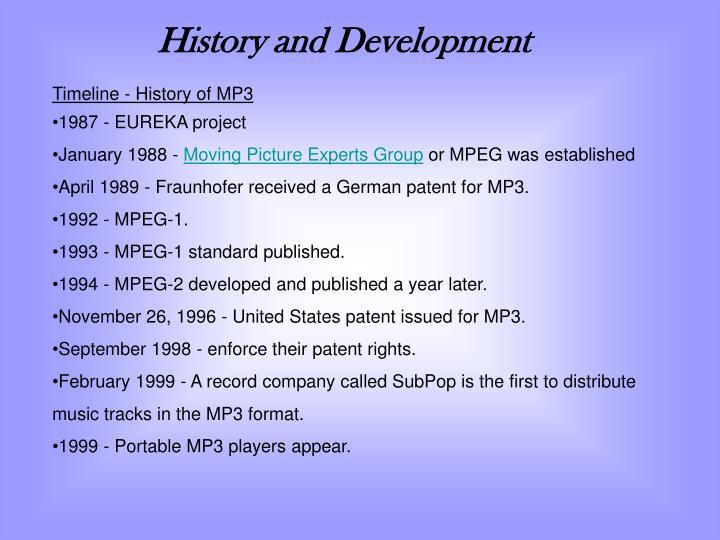 History and Development