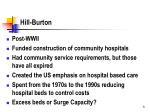 hill burton