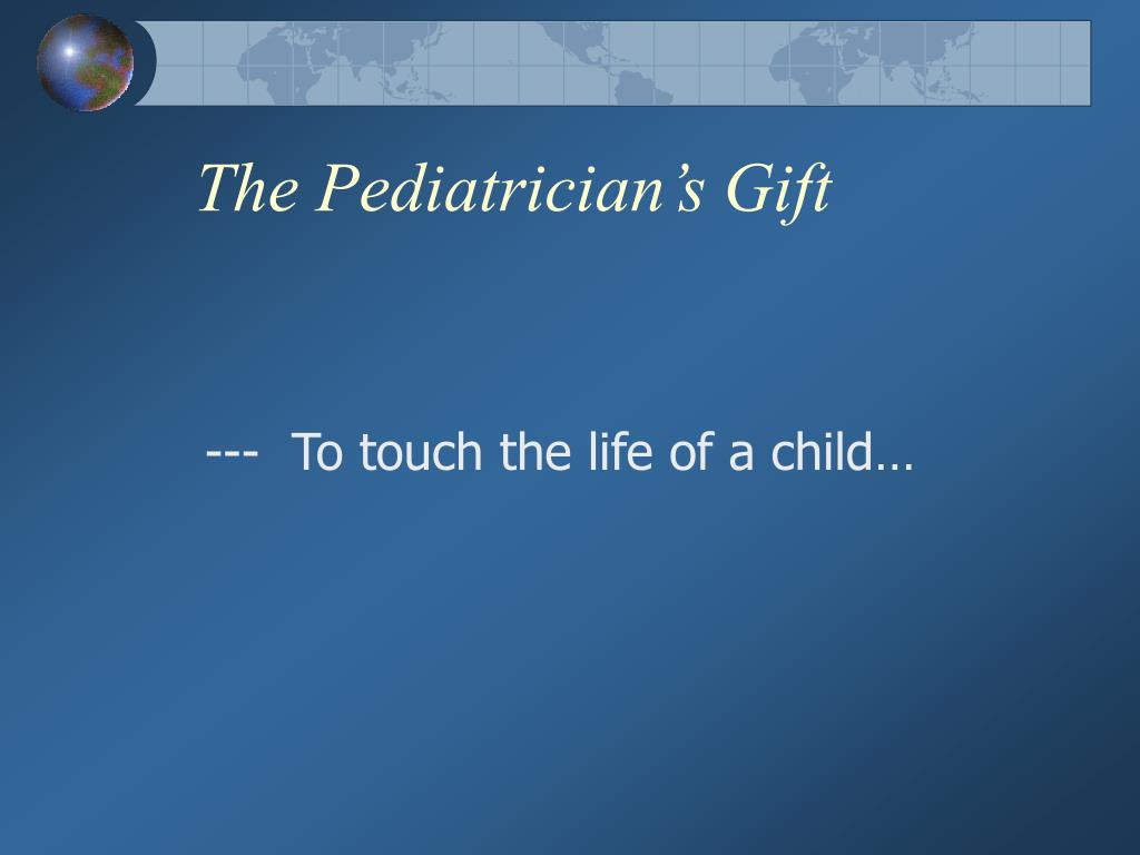 The Pediatrician's Gift