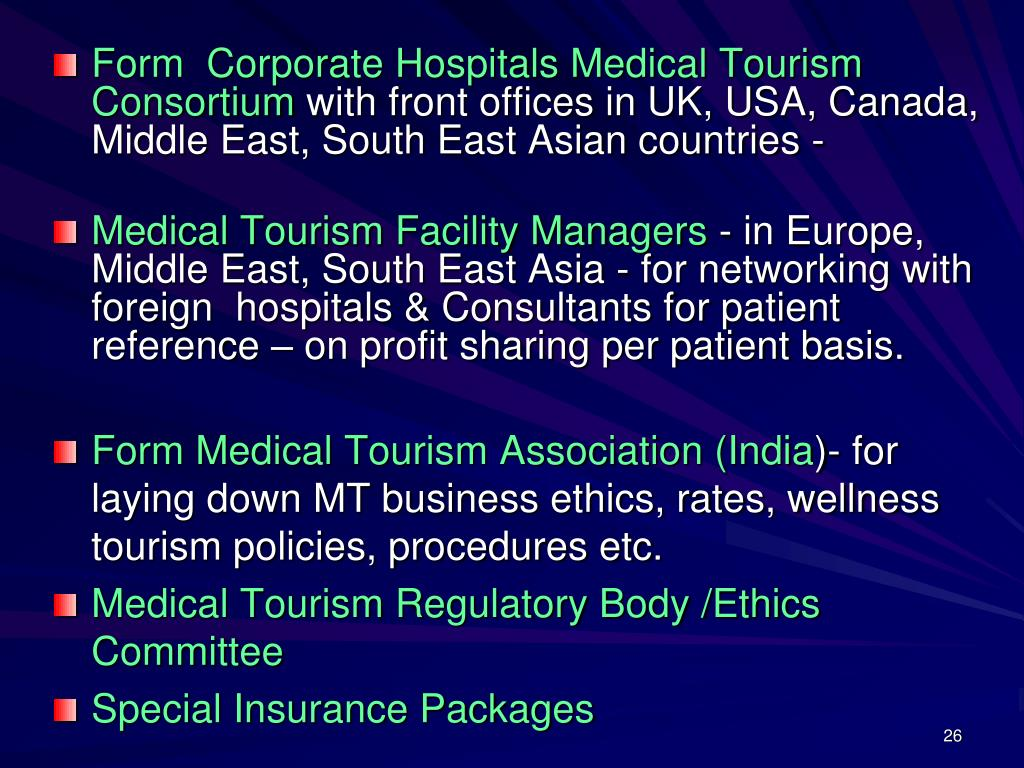 Form  Corporate Hospitals Medical Tourism Consortium