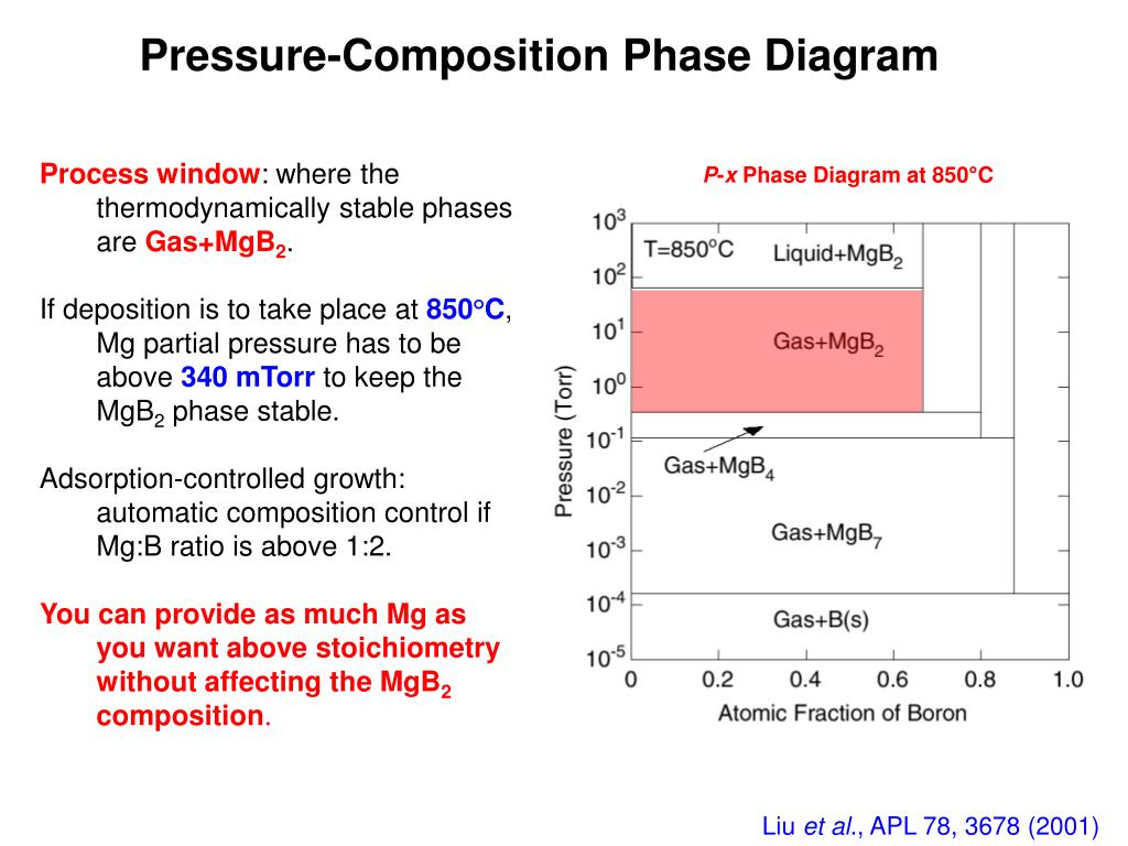 Pressure-Composition Phase Diagram
