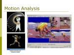 motion analysis