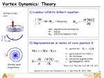 vortex dynamics theory