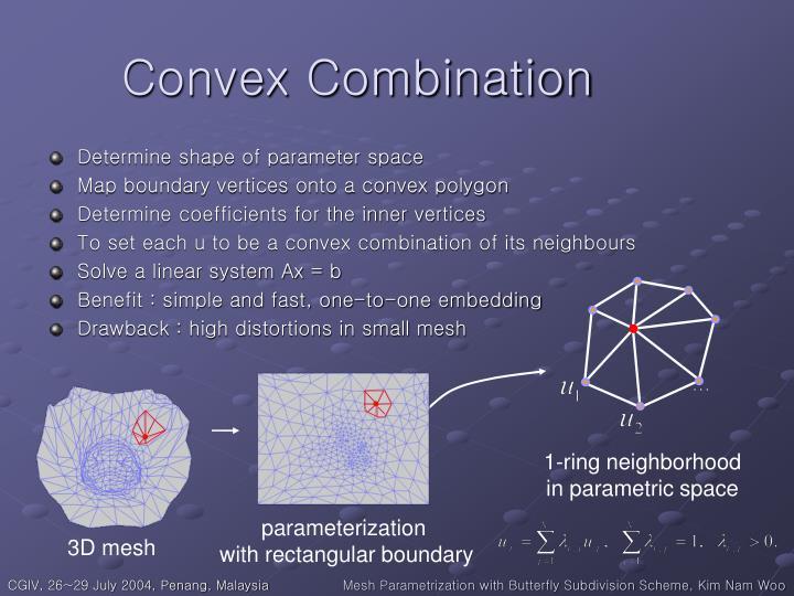 Convex Combination