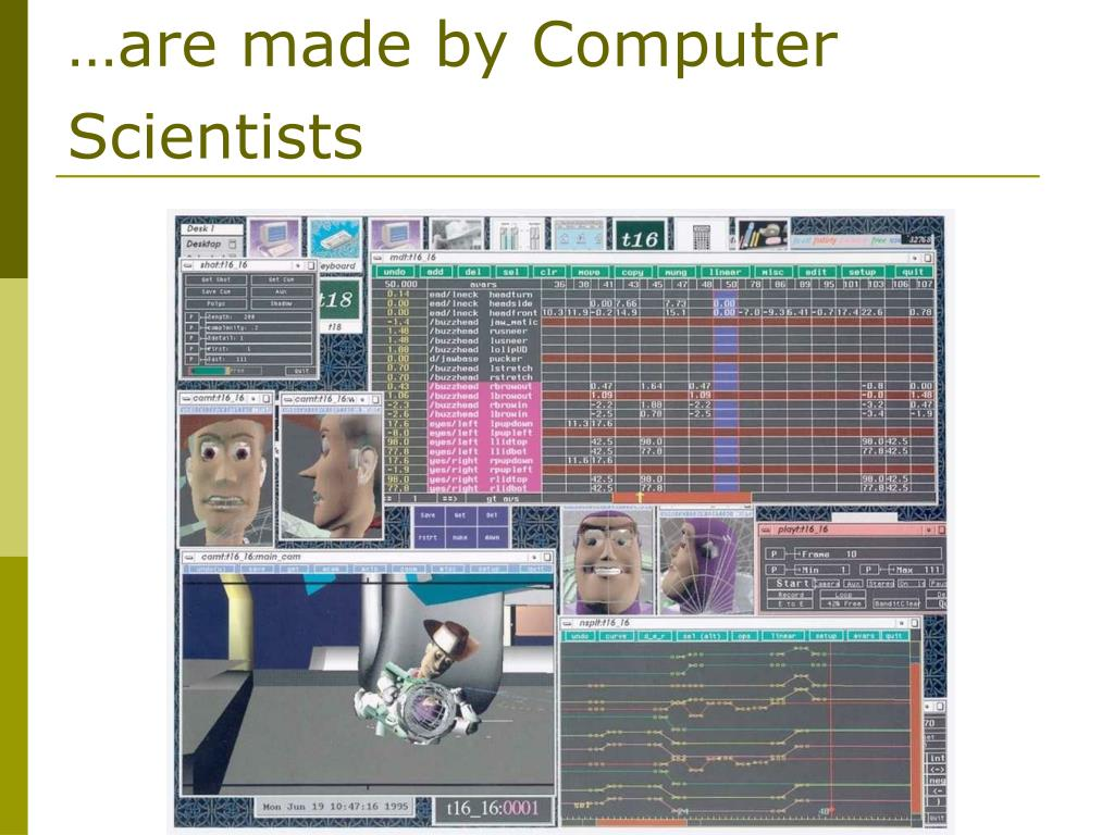 …are made by Computer Scientists