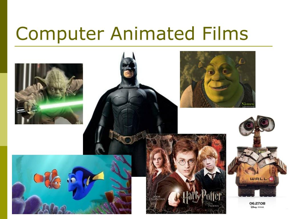 Computer Animated Films