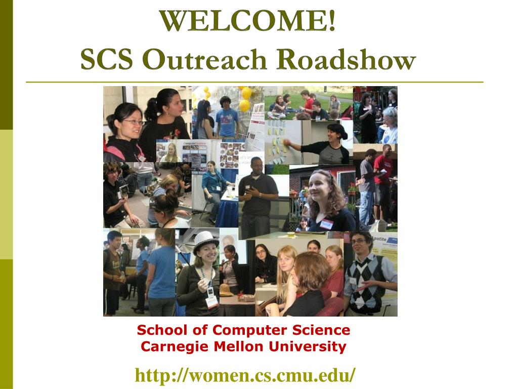 welcome scs outreach roadshow l.