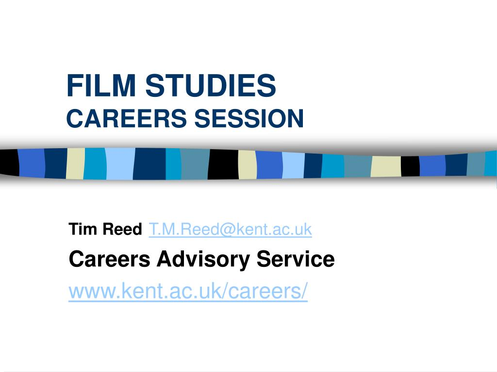 film studies careers session l.