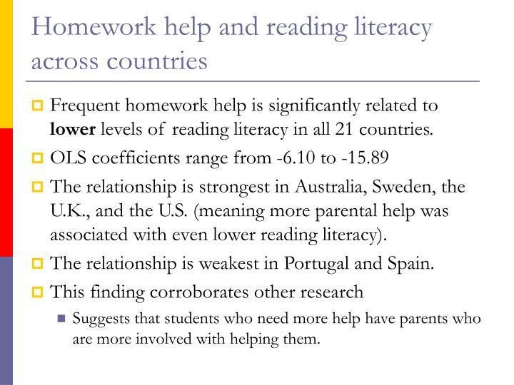Computer homework help uk literacy primary