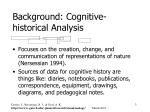 background cognitive historical analysis
