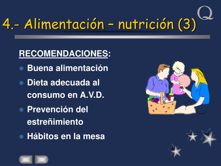 4.- Alimentación – nutrición (3)