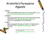 aristotle s persuasive appeals