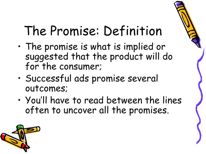 The Promise: Definition