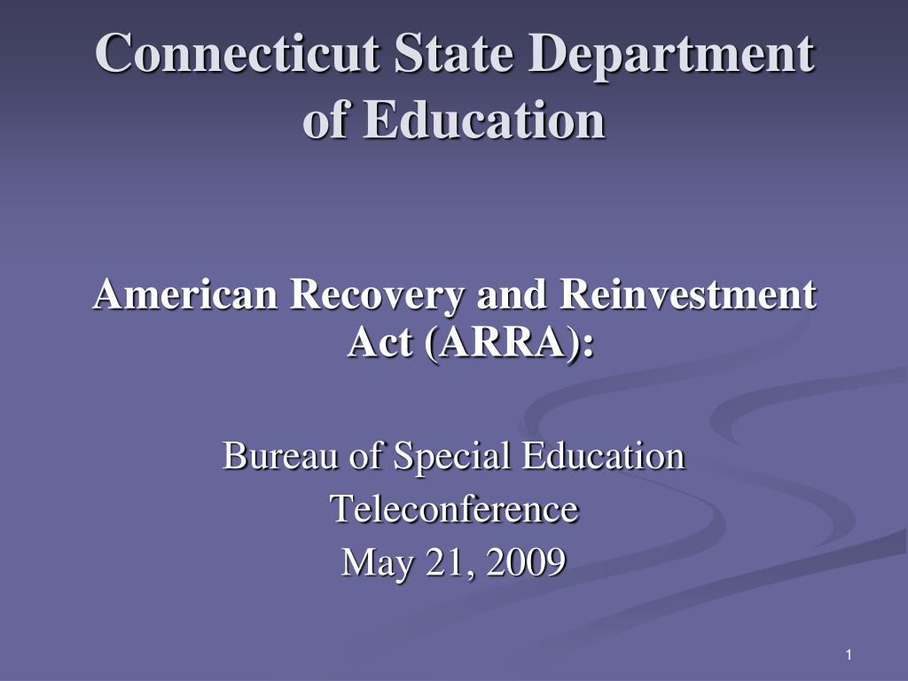 connecticut state department of education l.