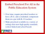 embed preschool for all in the public education system15