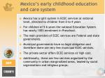 mexico s early childhood education and care system