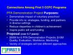 connections among first 5 ccfc programs11