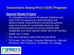 connections among first 5 ccfc programs7