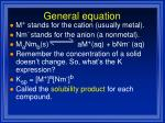 general equation1