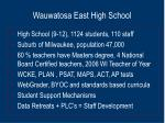 wauwatosa east high school