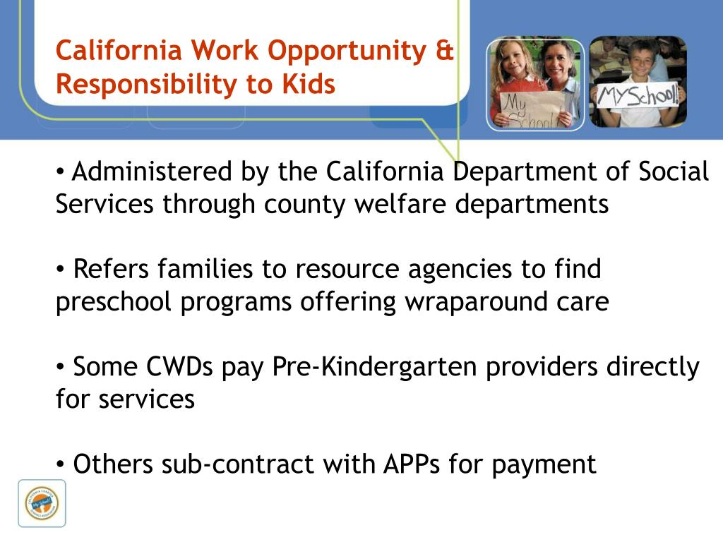 California Work Opportunity & Responsibility to Kids