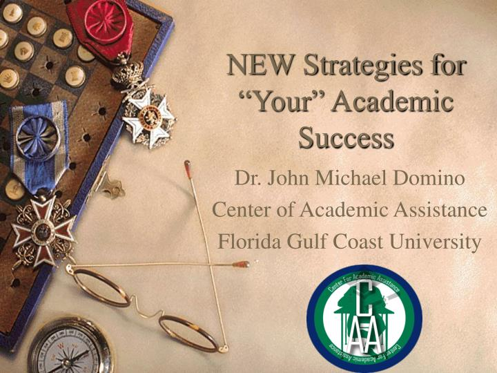 new strategies for your academic success n.