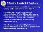affording special ed teachers28