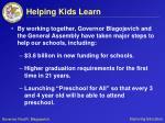 helping kids learn