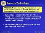 improve technology