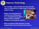 improve technology35