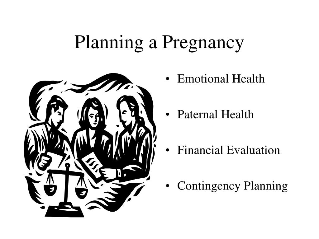 Planning a Pregnancy