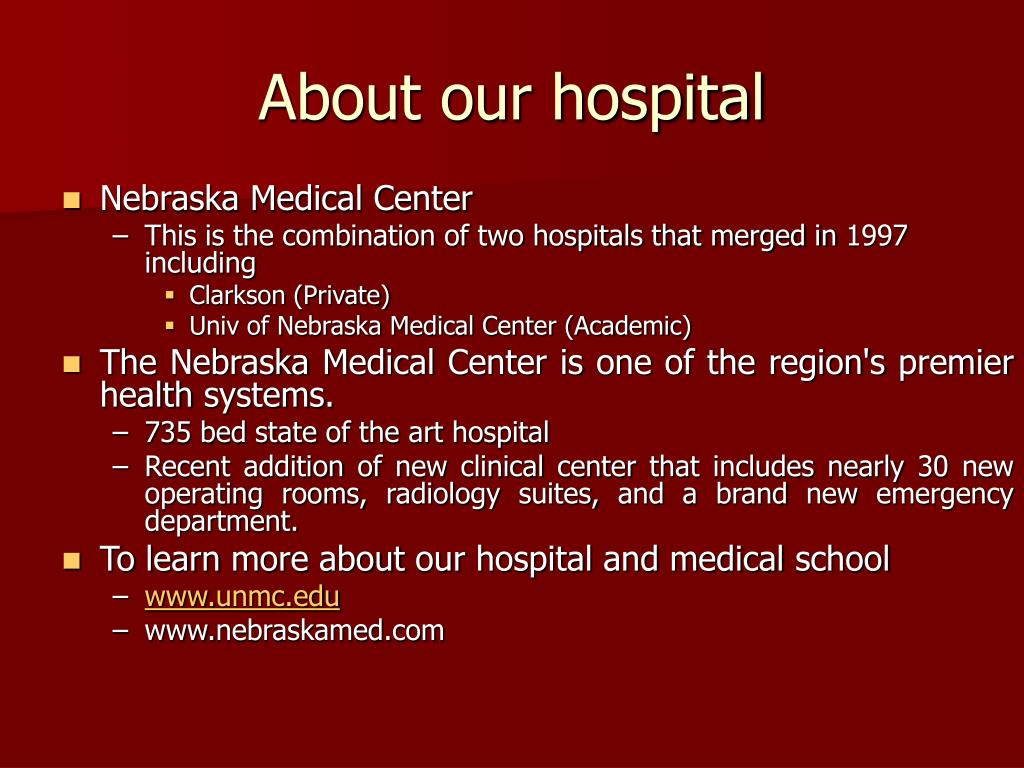 About our hospital