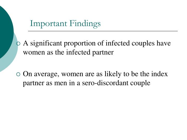Important Findings