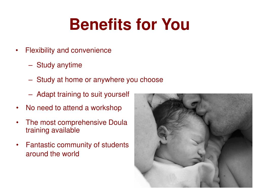 Benefits for You