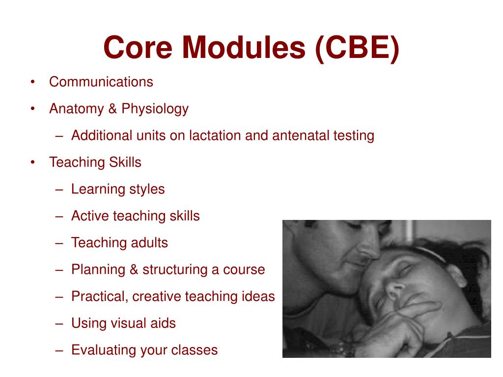 Core Modules (CBE)