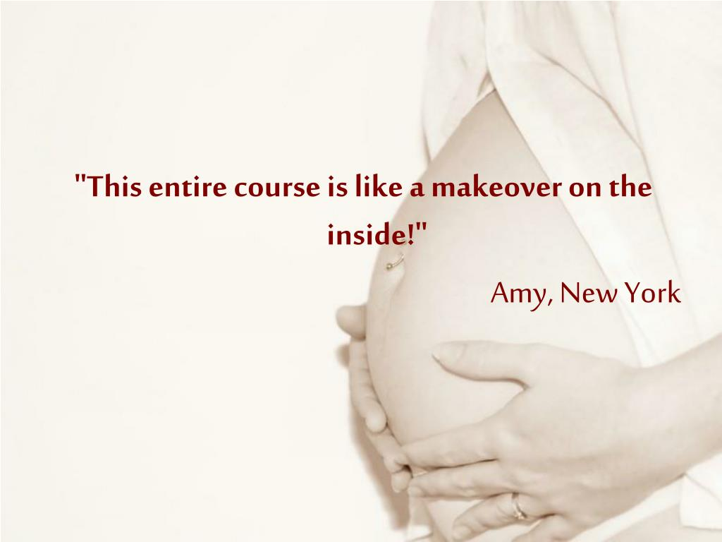 """This entire course is like a makeover on the inside!"""