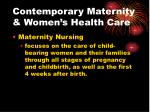 contemporary maternity women s health care5