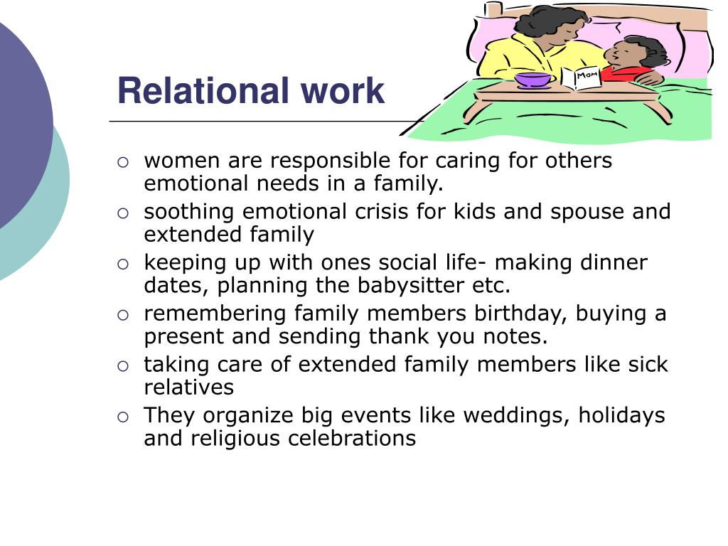 Relational work