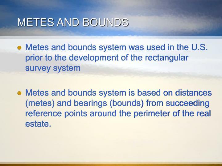 Ppt Legal Descriptions Of Land Powerpoint Presentation Id845044
