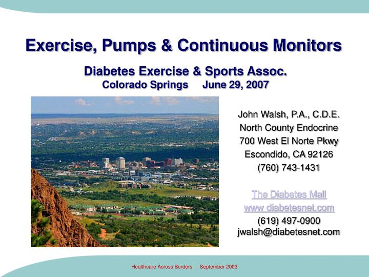 exercise pumps continuous monitors n.