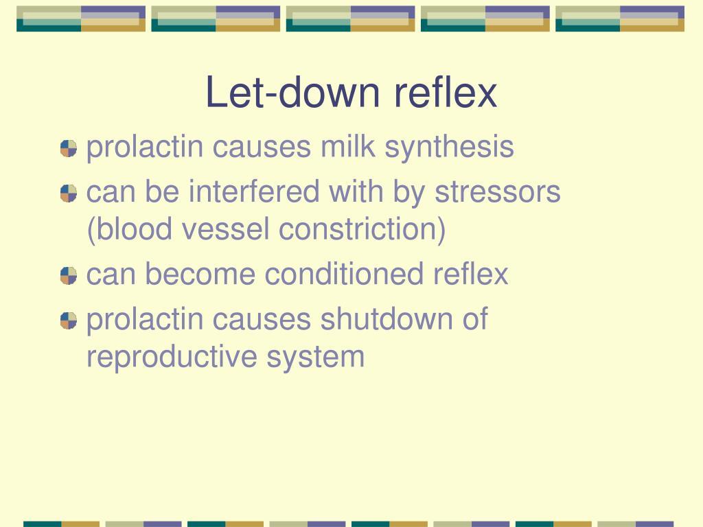 Let-down reflex