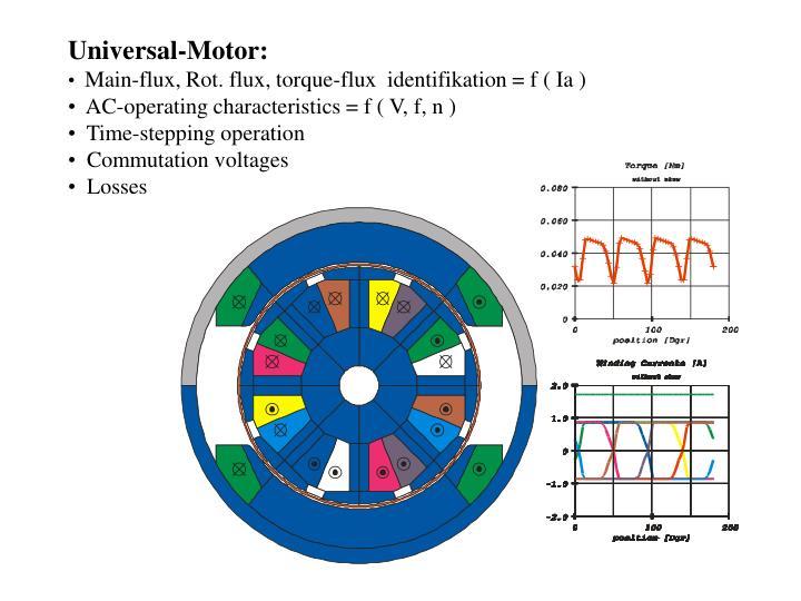 Universal-Motor: