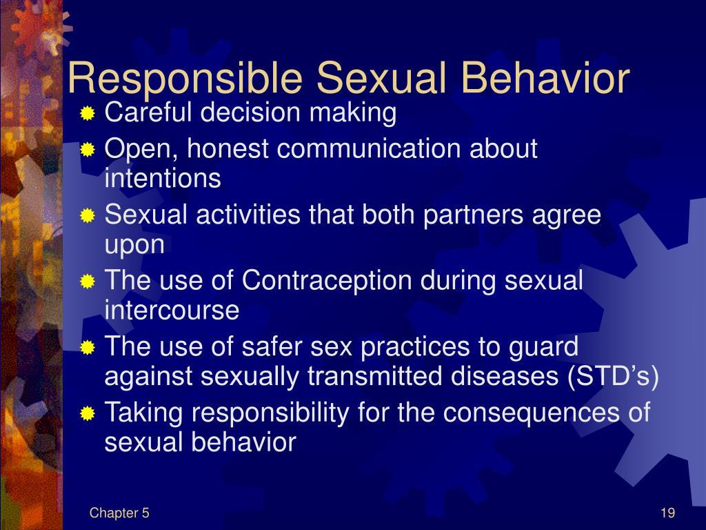 Responsible Sexual Behavior