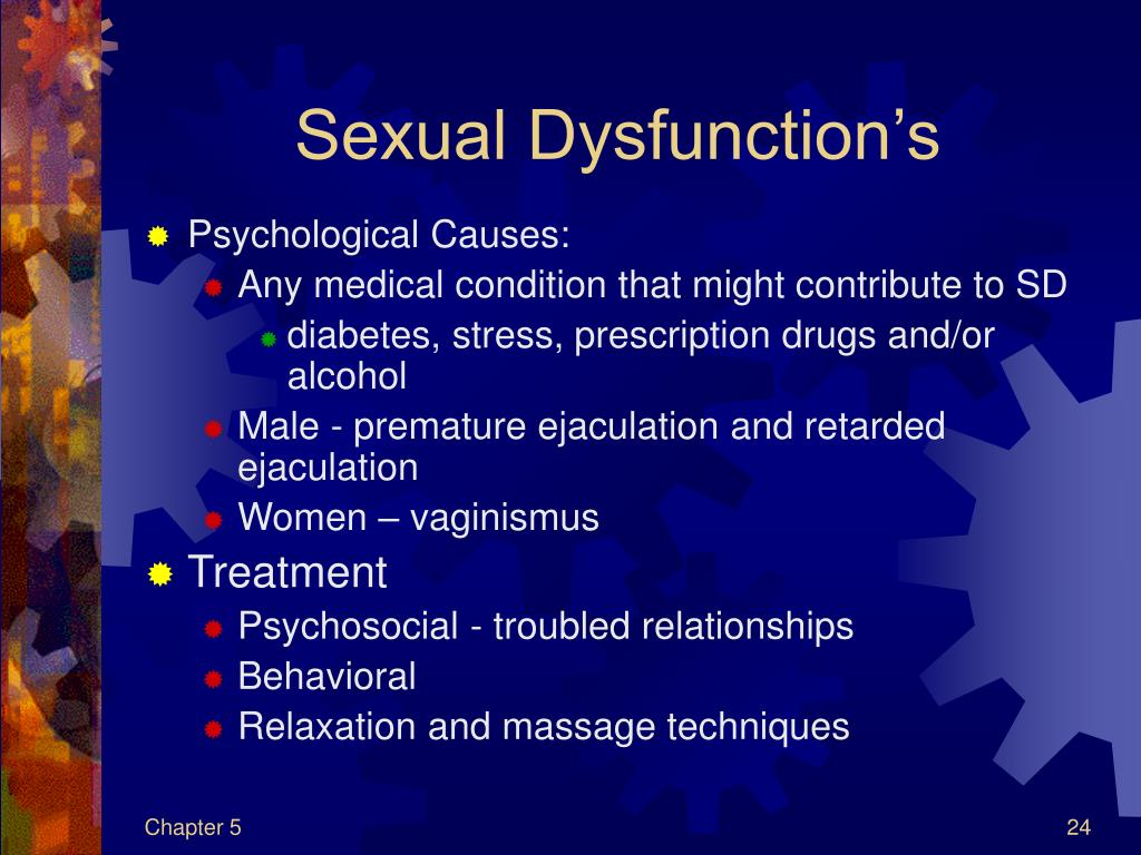 Sexual Dysfunction's