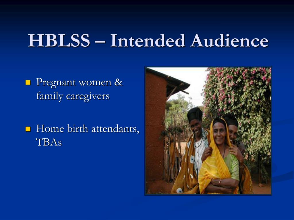 HBLSS – Intended Audience